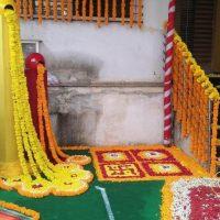 wedding planner, events, sangeet decoration, flowers, haldi tradition