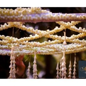 mogra flowers, fragrance, wedding decoration, wedding ceremony, mandap design ideas