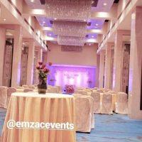 taj blue diamond, wedding, centrepieces, wedding decoration, wedding planner