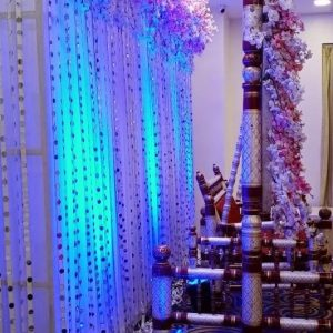 wedding backdrop, wedding planner, wedding decoration, flowers, event management, lights