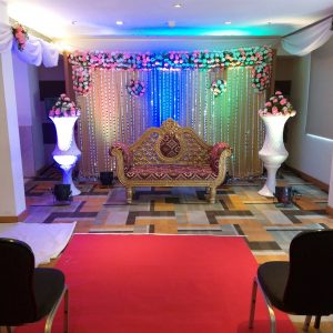 wedding stage, backdrops, wedding planner, event management company