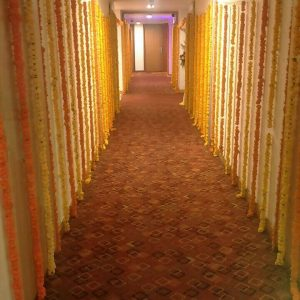 wedding hallway, decorations, flowers, wedding planners in pune, event management company in pune