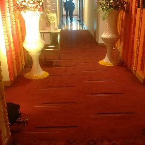 wedding hallway, wedding pieces, wedding decorations, wedding planners, event management company